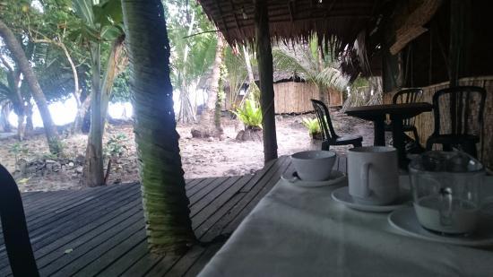 Kosrae Village Ecolodge & Dive Resort: Coffee at restaurant