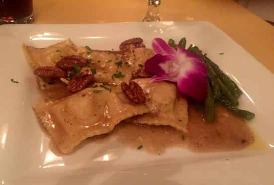 Jessica's at Swift House Inn Restaurant: Squash Ravioli