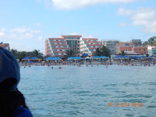 Hotel El Marqués: Vista desde la bahia del Hotel el Marquez