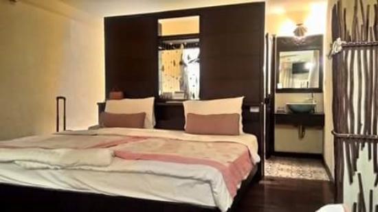 Phra Nang Inn: ห้องนอน