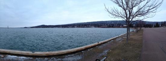Lutsen, MN: view of the Lake