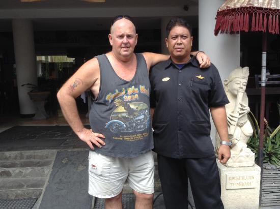 Losari Hotel & Villas: me and sercuity