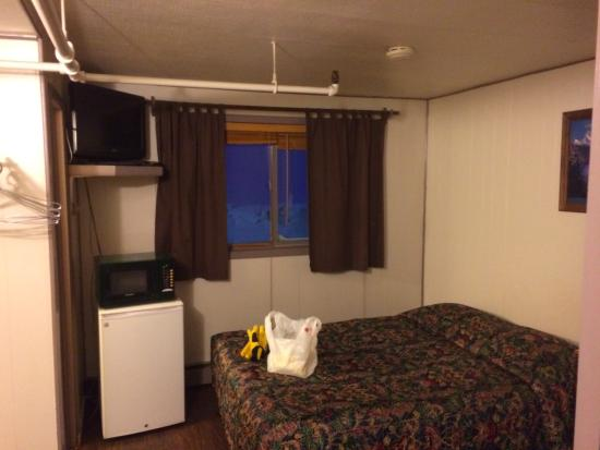 Nome, AK : $170 for uncomfortable bed and 2 feet on either side...