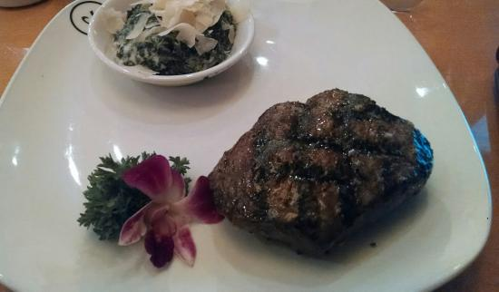 High Point, Karolina Północna: Sirloin, creamed spinach