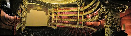 Palais Garnier - Opéra National de Paris: 客席内部のパノラマ写真