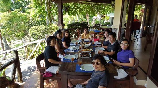 Cintai by Corito's Garden: Lunch at its dining area