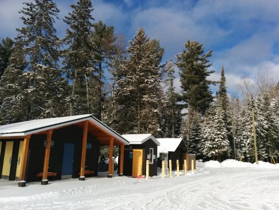Kearney, แคนาดา: Cottage complex area