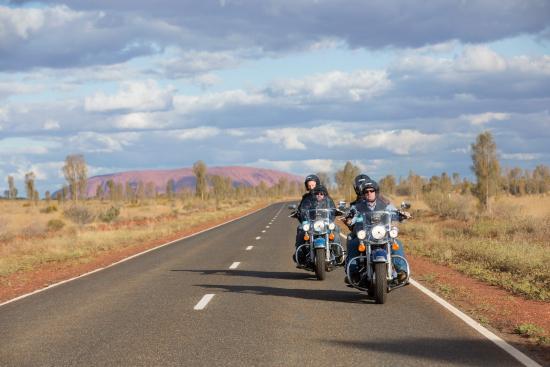 Yulara, Australië: Harley Davidson tour, Uluru-Kata Tjuta National Park