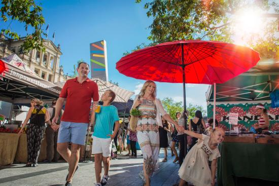 Exploring the Jan Power Farmers' Markets in Brisbane CBD