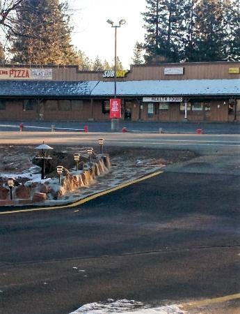 Burney Motel: Street view
