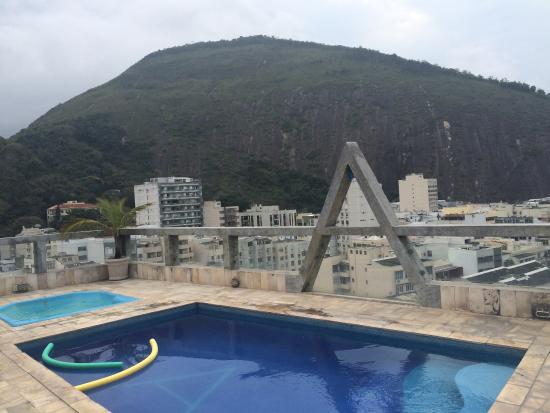 Augusto's Copacabana Hotel: rooftop pool