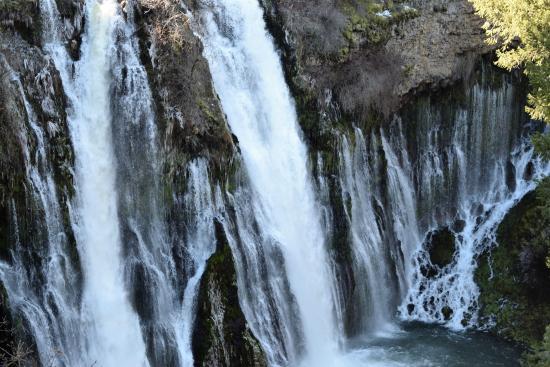 Burney water falls