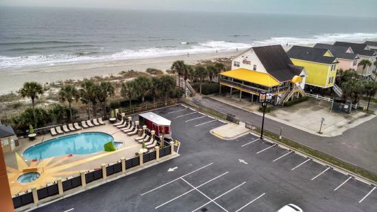 Surfside Beach Oceanfront Hotel Pool Hot Tub Scotty S Bar
