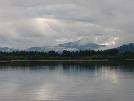 Port of Menteith, UK: Ben Lomond from a distance