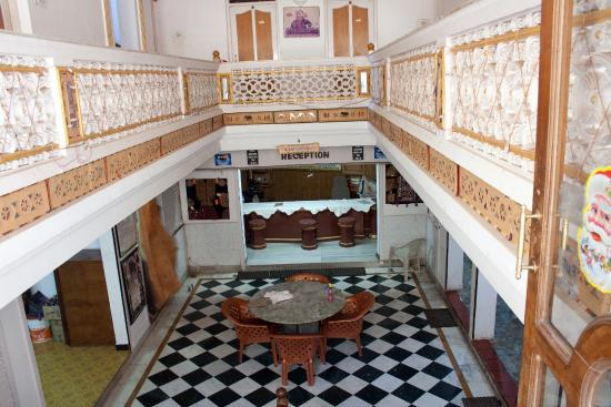 Gangaram Hotel and Guest House: Reception....