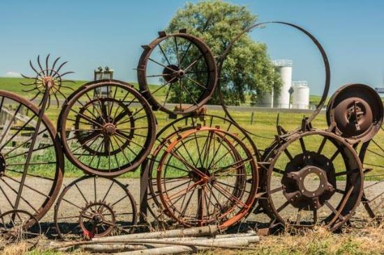 Uniontown, Вашингтон: Dahmen Barn