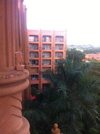 Kampala Serena Hotel: View from the room