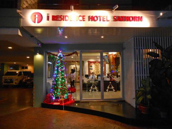 I Residence Hotel Sathorn: ล็อบบี้เล็กๆ