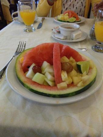 Caribe Hotel: Desayuno