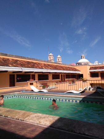Caribe Hotel: Alberca en segundo piso