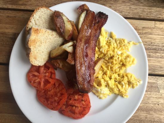 Duncan, Canada: mmm breakfast