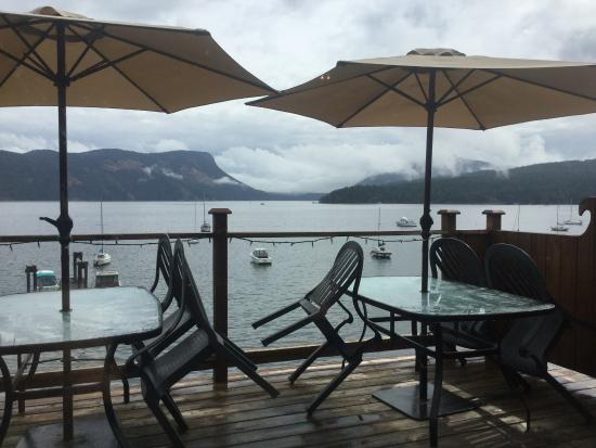 Duncan, Kanada: View from the deck