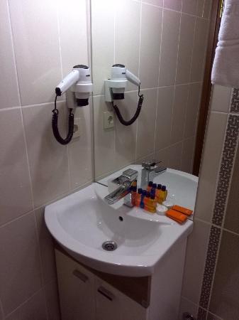 Blue Istanbul Hotel: バスルーム1