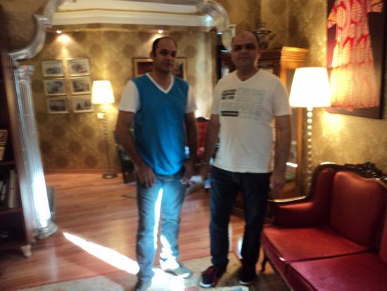 Tashkonak Hotel: Hotel Lobby