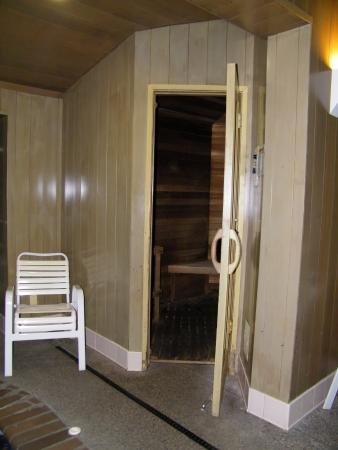 Wallace, ID: sauna