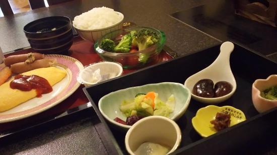 Hotel Ichii: 朝食