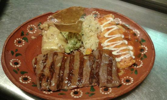 Margaritas Restaurant : arrachera a las brasas