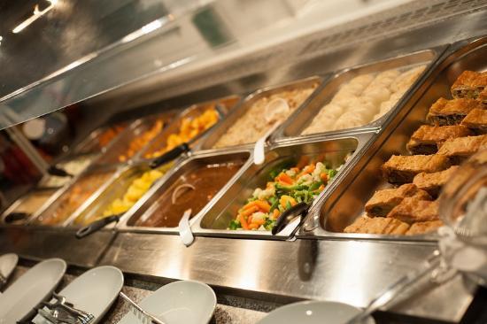 Mittags-Buffet (Brunch) jeden Samstag und Sonntag