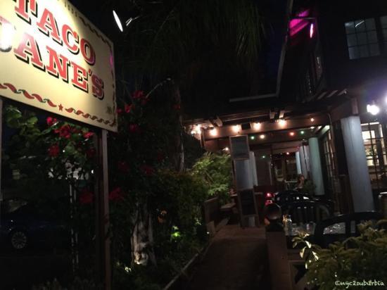 San Anselmo, CA: Last Time at Taco Jane's