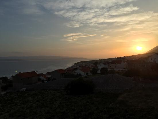 Villa Ana: Sunset from my room