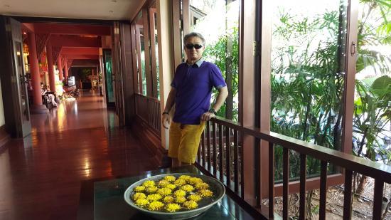 Siripanna Villa Resort & Spa: beside the hotel lobby