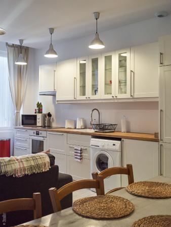 Villa St. Simon: kitchen living