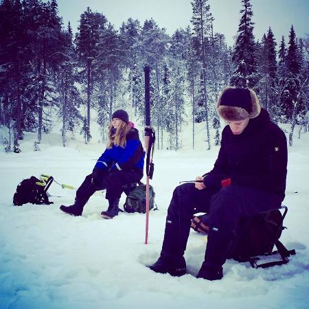 Ruka Adventures Day Tours: Ice fishing