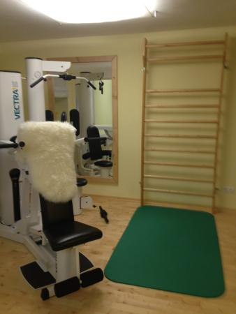 Hotel Arlberghaus: workout facility