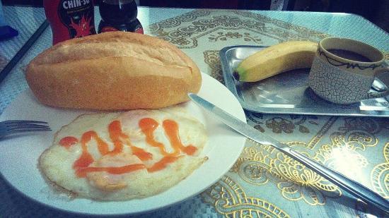 Kangaroo Hotel: Breakfast meal