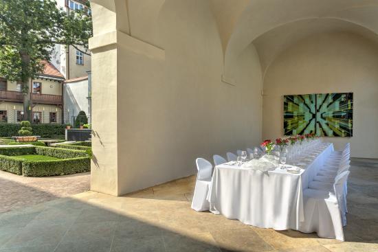 Augustine, a Luxury Collection Hotel, Prague: Arcades and Sundial Garden