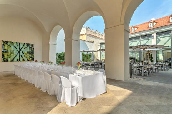 Augustine, a Luxury Collection Hotel, Prague: Arcades and Terrace