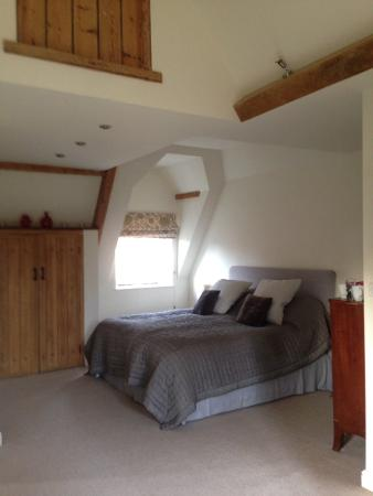 Chittoe, UK: Main bedroom
