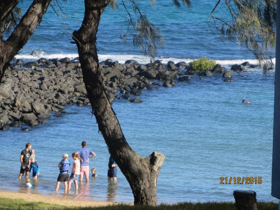 Bargara Shoreline Apartments: The lagoon