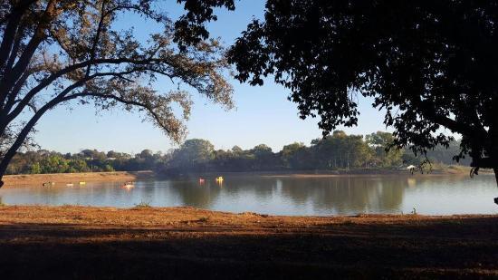 Champak Bungalow: The Lake