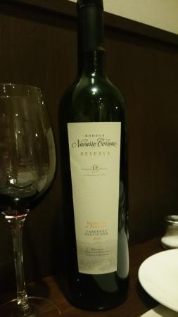 Patagonia Beef & Wine: Vino argentino