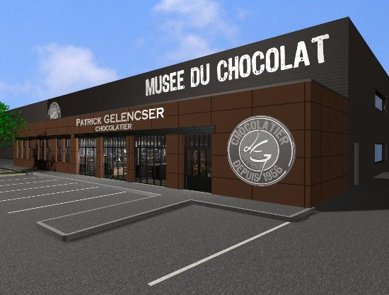 Boutique souvenirs picture of musee du chocolat la - Boutique orange la roche sur yon ...