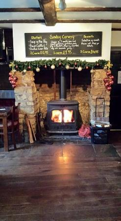 Kilsby, UK: Cosey Open Fire