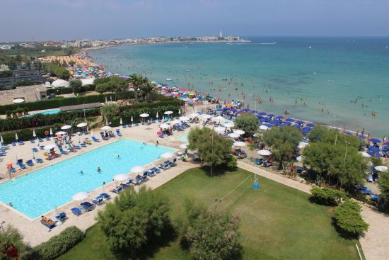 Torre Canne, Italy: vista dalla camera