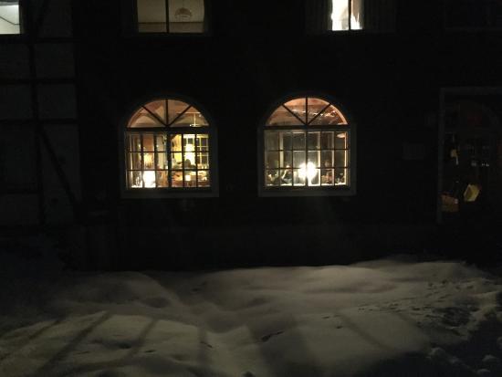 Annupuri Oasis Lodge: Facing lodge