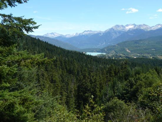 Rainbow Mountain: Rainbouw mountain - uitzicht